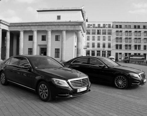 Unsere Fahrzeuge - Mercedes Benz S-Klasse